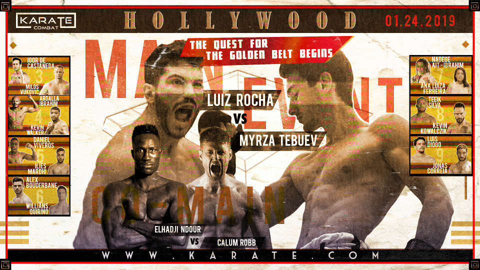 Karate Combat: Hollywood Full Event