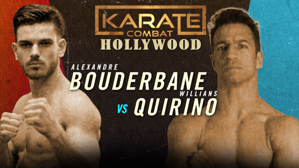 Alexandre Bouderbane v Willians Quirino